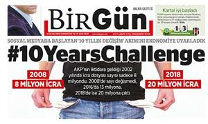Yılın en iyi 10 manşeti seçildi: BirGün 3 manşetiyle listede