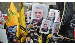 İstanbul'da 'Kasım Süleymani' protestosu