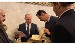 Esad ile görüşen Putin, Emevi Camisini ziyaret etti
