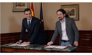 İspanya'da sol koalisyon hükümeti Meclis'ten güvenoyu aldı