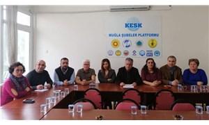 KESK Muğla Şubeler Platformu'ndan 11 Ocak İzmir mitingine çağrı
