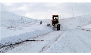 Elazığ'da kar nedeniyle 136 köye ulaşım sağlanamıyor