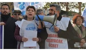 KESK Eş Genel Başkanı Aysun Gezen: Ekonomik kriz derinleşerek devam ediyor