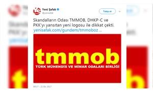 TMMOB logosuna hakaret eden Yeni Şafak gazetesi tazminat cezasına çarptırıldı
