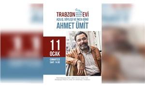 Trabzon Kültür Evi, Ahmet Ümit'le açılıyor