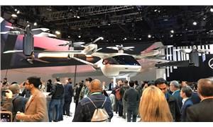 Uber ve Hyundai uçan taksiyi tanıttı