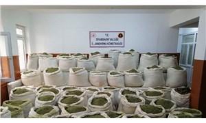 Diyarbakır'da 2 ton 80 kilogram esrar ele geçirildi