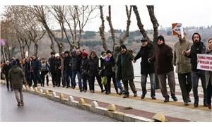 Kanal İstanbul'a karşı insan zinciri