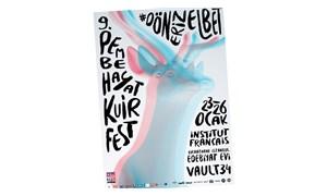 9. Pembe Hayat KuirFest'in 3D afişi yayında