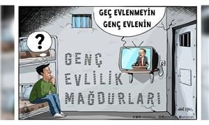 Yandaş Misvak'tan istismarcıları 'mağdur' gösteren karikatür
