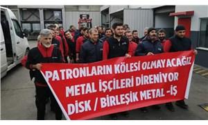 Metal fabrikalarında adım adım greve doğru