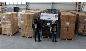 Kocaeli'de 624 bin 800 paket kaçak sigara ele geçirildi
