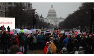 ABD'de 4. Kadın Yürüyüşü: Trump'ın politikaları protesto edildi