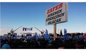 Binlerce metal işçisinden miting: 5 Şubat'ta grevdeyiz
