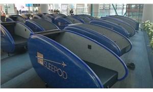 Havalimanlarındaki uyku kabinlerinin fiyatları belli oldu
