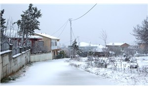 İstanbul'da kar kapıya dayandı: Silivri ve Çatalca beyaza büründü