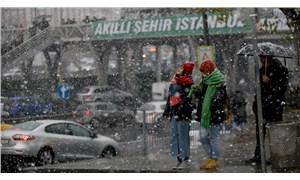 Meteoroloji'den İstanbul için kar yağışı ve buzlanma uyarısı