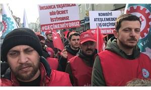 On binlerce metal işçisi alanlara çıktı, MESS'i uyardı: Dayatmalarınıza boyun eğmeyiz!