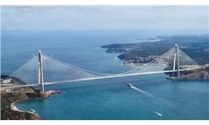 Yavuz Sultan Selim Köprüsü'ne 2019 yılı 'garantisi' için 3 milyar TL ödenecek