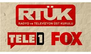 Beyaz TV'den al haberi: RTÜK, FOX TV ve TELE 1'e çok ağır cezalar verecek!