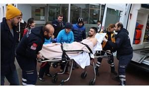 Boynundan vurulan kişiden gazetecilere: Ölmedi, alamıyorlar canını yazın