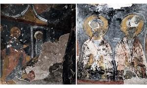Tarihi kiliseyi yağmalayıp tahrip ettiler
