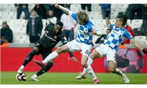 Beşiktaş, Türkiye Kupası'ndan elendi