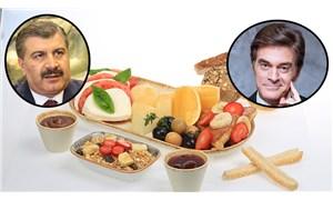 Kahvaltı tartışmasına Sağlık Bakanı Koca da girdi