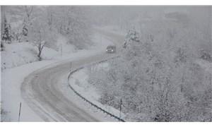 Kastamonu ve Sinop'ta 39 köy yolu ulaşıma kapandı