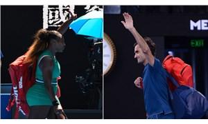Williams ve Federer, Avustralya Açık'ta 3. tura yükseldi