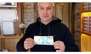 Hatalı baskı 20 YTL için 50 bin lira istiyor