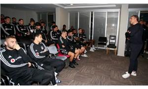 Abdullah Avcı, Beşiktaşlı futbolcularla vedalaştı