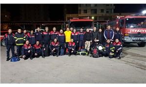 Adana Büyükşehir Belediyesi'nin uzman ekipleri Elazığ'da