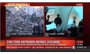 CNN Türk muhabirinden depremzedelere: Sıcacık çadırları içinde oturuyorlar, mutlular