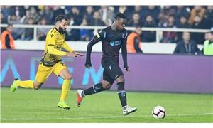 Deprem nedeniyle Yeni Malatyaspor-Trabzonspor maçı ertelendi