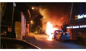 Şişli'de bir haftada 18 aracın lastiği kesildi, 2 araç kundaklandı