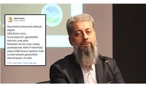 YTÜ Profesörü Bedri Gencer'den skandal 'deprem' paylaşımı