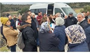 Gülpınar'da JES karşıtlarının açtığı dava sürüyor: Bilirkişi keşfi yapıldı