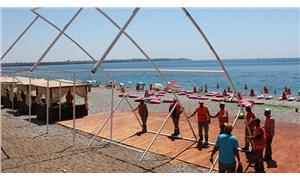 Konyaaltı Sahili'nde 2,6 milyon TL'lik vurgun