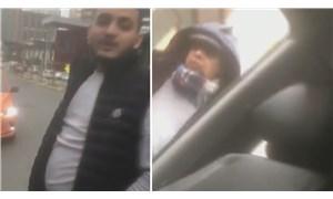 Yol kesip evrak kontrolü yapan taksicilerden biri gözaltına alındı