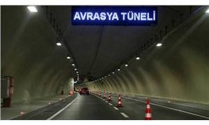 Avrasya Tüneli geçiş ücretlerine yüzde 56 zam!