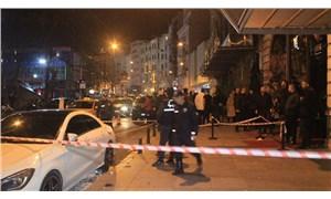 Taksim'de silahlı saldırı: 1 kişi ağır yaralı