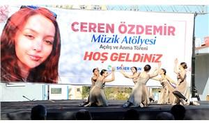 Ceren Özdemir'in ismi Adana'da müzik atölyesinde yaşayacak