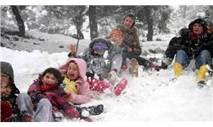 Yoğun kar yağışı nedeniyle bazı il ve ilçelerde okullar tatil edildi