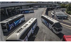 Şehirler arası yolcu taşıyan 268 otobüs trafikten men edildi