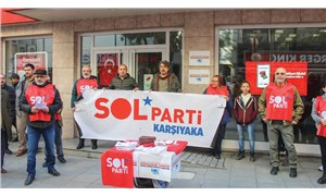Ege'de sokağa çıktılar: Sol Parti'den hayat pahalılığına ve ranta protesto