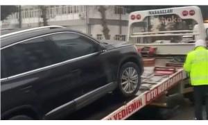 AKP'den Saadet Partisi'ne geçen belediyenin makam aracına el konuldu