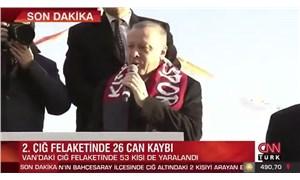 Çığ haberini kesip Erdoğan'ın mitingini yayınlayan NTV ve CNN Türk tepki çekti