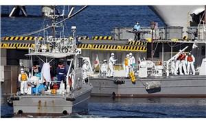 Japonya'da karantinaya alınan gemide 10 yolcuda daha koronavirüs tespit edildi