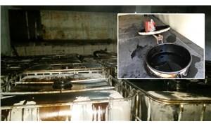 Petrol boru hattına vana takıp 67 ton petrol çaldılar